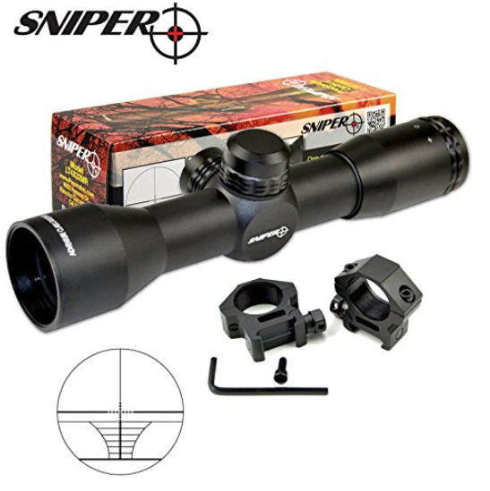 Sniper Compact Riflescope - With Ring